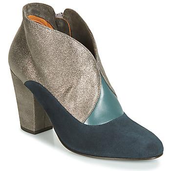 Cipők Női Bokacsizmák Chie Mihara ELGI Ezüst / Tengerész