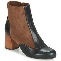 Cipők Női Bokacsizmák Chie Mihara MICHELE Fekete  / Barna
