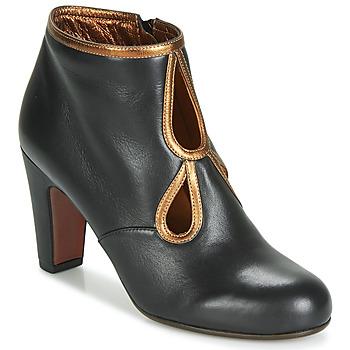 Cipők Női Bokacsizmák Chie Mihara KOSPI Fekete  / Arany