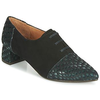 Cipők Női Oxford cipők Chie Mihara ROLY Fekete  / Zöld