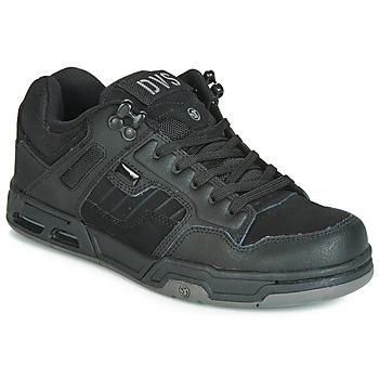 Cipők Rövid szárú edzőcipők DVS ENDURO HEIR Fekete