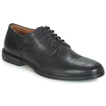 Cipők Férfi Oxford cipők Schmoove BANK-DERBY Fekete