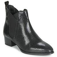 Cipők Női Bokacsizmák Ravel LOBURN Fekete