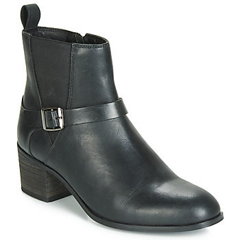 Cipők Női Bokacsizmák Ravel KINGSLEY Fekete