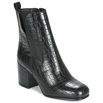 Cipők Női Bokacsizmák Ravel WELLSFORD Fekete