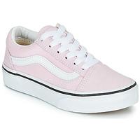 Cipők Lány Rövid szárú edzőcipők Vans UY OLD SKOOL Rózsaszín