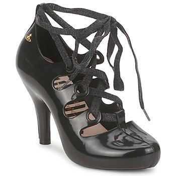 Cipők Női Félcipők Melissa GILLIE WESTWOOD Fekete