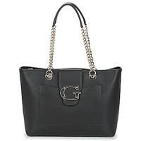 Táskák Női Bevásárló szatyrok / Bevásárló táskák Guess CAMILA Fekete