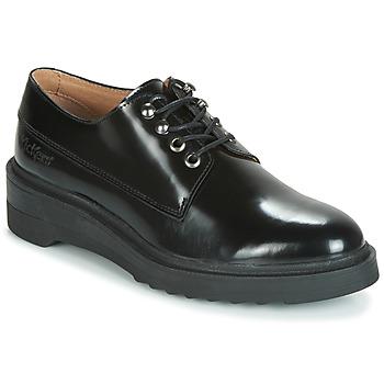 Cipők Női Oxford cipők Kickers ALDARIC Fekete