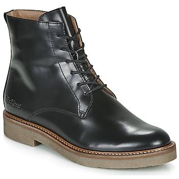 Cipők Női Csizmák Kickers OXIGENO Fekete