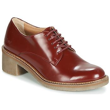 Cipők Női Oxford cipők Kickers OXYBY Piros