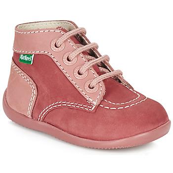 Cipők Lány Csizmák Kickers BONBON Rózsaszín