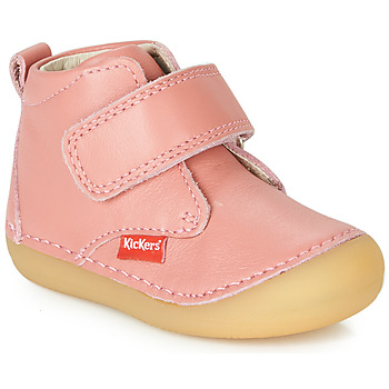 Cipők Lány Csizmák Kickers SABIO Rózsaszín