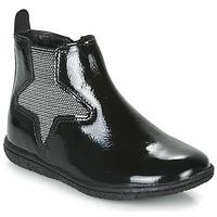 Cipők Lány Csizmák Kickers VERMILLON Fekete