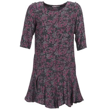 Ruhák Női Rövid ruhák See U Soon BOETICO Fekete  / Lila