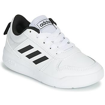 Cipők Gyerek Rövid szárú edzőcipők adidas Performance VECTOR K Fehér / Fekete