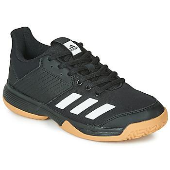 Cipők Gyerek Rövid szárú edzőcipők adidas Performance LIGRA 6 YOUTH Fekete