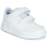Cipők Gyerek Rövid szárú edzőcipők adidas Performance ALTASPORT CF I Fehér