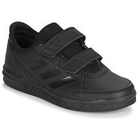 Cipők Gyerek Rövid szárú edzőcipők adidas Performance ALTASPORT CF K Fekete