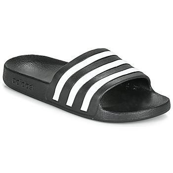 Cipők strandpapucsok adidas Performance ADILETTE AQUA Fekete  / Fehér