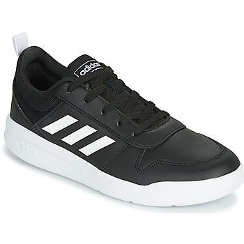 Cipők Gyerek Rövid szárú edzőcipők adidas Performance VECTOR K Fekete  / Fehér