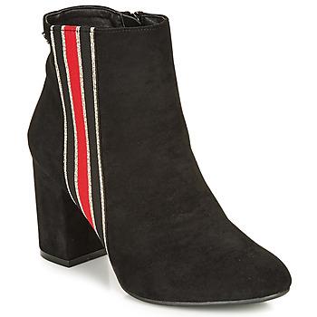 Cipők Női Bokacsizmák Refresh 69113-BLACK Fekete
