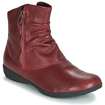 Cipők Női Csizmák Josef Seibel NALY 24 Kármin