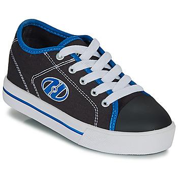 Cipők Fiú Gurulós cipők Heelys CLASSIC X2 Fekete  / Fehér / Kék