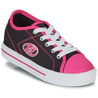 Cipők Lány Gurulós cipők Heelys CLASSIC X2 Fekete  / Rózsaszín
