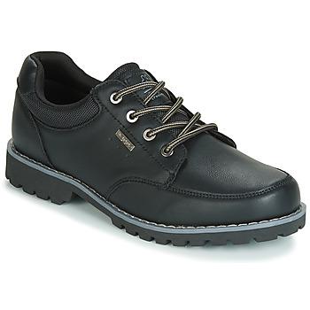 Cipők Férfi Rövid szárú edzőcipők Kappa NAGOA Fekete