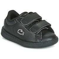 Cipők Gyerek Rövid szárú edzőcipők Lacoste CARNABY EVO BL 3 SUI Fekete