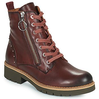 Cipők Női Csizmák Pikolinos VICAR W0V Barna