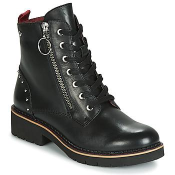 Cipők Női Csizmák Pikolinos VICAR W0V Fekete