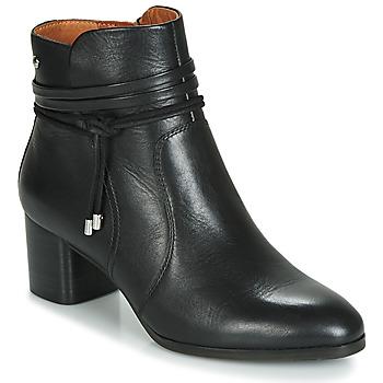 Cipők Női Bokacsizmák Pikolinos CALAFAT W1Z Fekete
