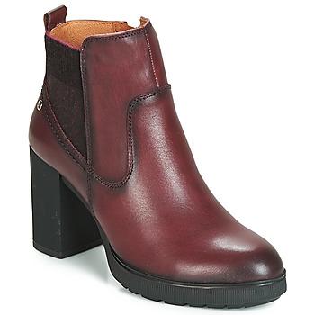 Cipők Női Bokacsizmák Pikolinos SAGUNTO W4Z Barna