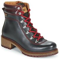 Cipők Női Csizmák Pikolinos ASPE W9Z Fekete