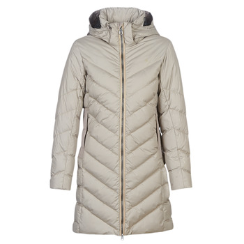 Ruhák Női Steppelt kabátok G-Star Raw WHISTLER SLIM DOWN HDD LONG COAT WMN Bézs