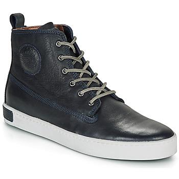Cipők Férfi Magas szárú edzőcipők Blackstone AM02 Tengerész