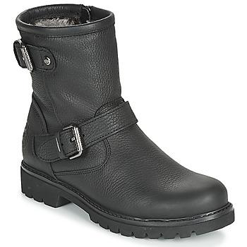 Cipők Női Csizmák Panama Jack FELINA Fekete