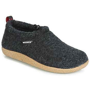 Cipők Női Mamuszok Giesswein VENT Antracit