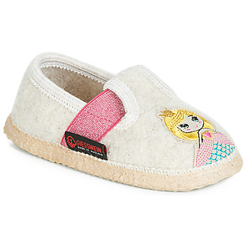 Cipők Lány Mamuszok Giesswein THURNAU Bézs
