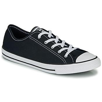 Cipők Női Rövid szárú edzőcipők Converse CHUCK TAYLOR ALL STAR DAINTY GS  CANVAS OX Fekete