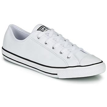 Cipők Női Rövid szárú edzőcipők Converse CHUCK TAYLOR ALL STAR DAINTY GS  LEATHER OX Fehér