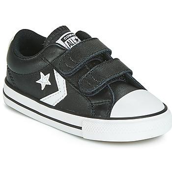 Cipők Gyerek Rövid szárú edzőcipők Converse STAR PLAYER EV 2V  LEATHER OX Fekete