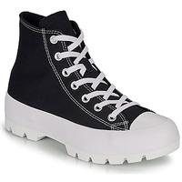 Cipők Női Magas szárú edzőcipők Converse CHUCK TAYLOR ALL STAR LUGGED HI Fekete