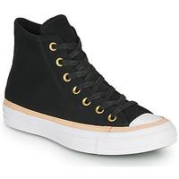 Cipők Magas szárú edzőcipők Converse CHUCK TAYLOR ALL STAR VACHETTA LEATHER HI Fekete