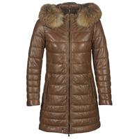 Ruhák Női Steppelt kabátok Oakwood MARY Konyak