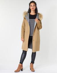 Ruhák Női Kabátok Oakwood YALE BI Teve / Szürke