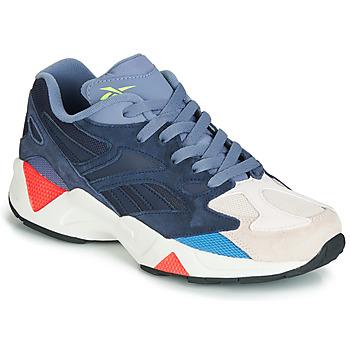 Cipők Rövid szárú edzőcipők Reebok Classic AZTREK 96 Szürke / Kék