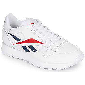Cipők Rövid szárú edzőcipők Reebok Classic CL LEATHER VECTOR Fehér